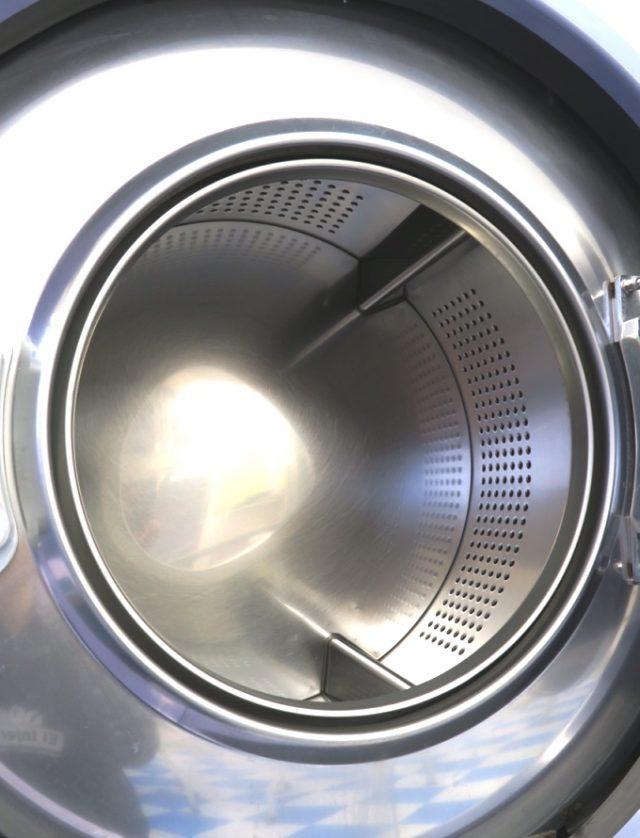 半田市 コインランドリーまるき 12kg大型洗濯機ドラム