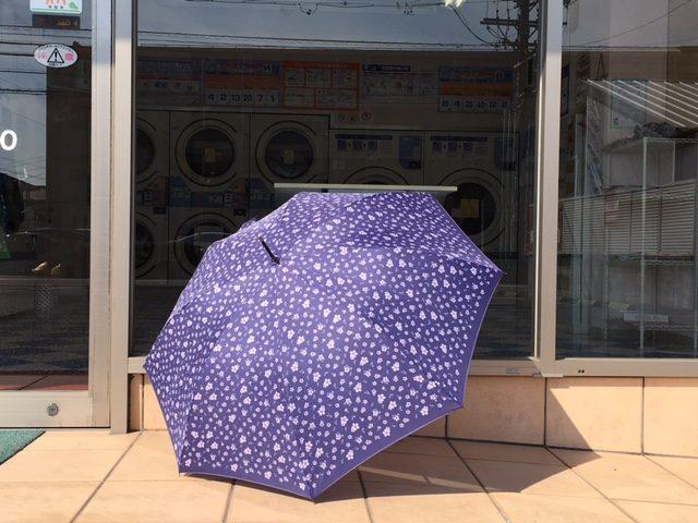 コインランドリー 傘の忘れ物