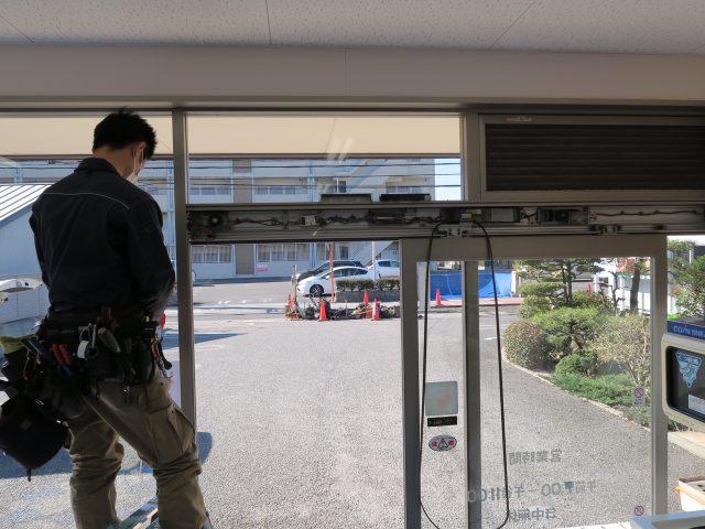 日本自動ドア(株) 自動ドア修理_1